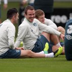 It's a brave man who would show up to a Roy Keane training session looking like this, so all credit to Glenn Whelan at the end of the day.