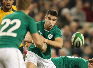 Conor Murray will be hoping to start Sunday's clash with New Zealand.