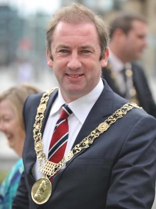 Lord Mayor of Dublin Oisín Quinn.