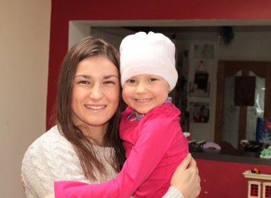 Merryn and Katie Taylor