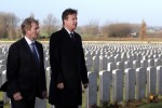 Pics: Enda Kenny and David Cameron honour war dead in Belgium