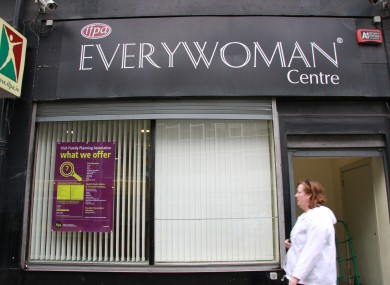 The Irish Family Planning Association say demand is increasing for post-abortion care. (File photo)