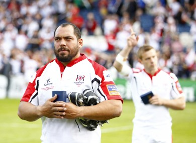 Afoa: has signed a long-term deal with a Premiership club.