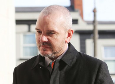 Solicitor Thomas Byrne, who was sentenced to 16 years in jail this month for a huge property loans swindle.