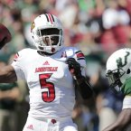 Is Teddy Bridgewater about to become the NFL's newest star? The Louisville quarterback showed himself to be a class apart in the college game and will be one of the top picks of the 2014 draft. That's no guarantee of success but Bridgewater, 21, has the ability to make it big.<span class=