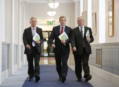 Will Richard, Enda and Eamon be walking into more good economic news in 2014?