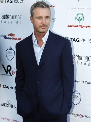 Eddie Irvine at a charity fashion show in Monaco in May 2011.