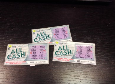 Ever wonder how likely you are to win on a scratch card? · TheJournal ie