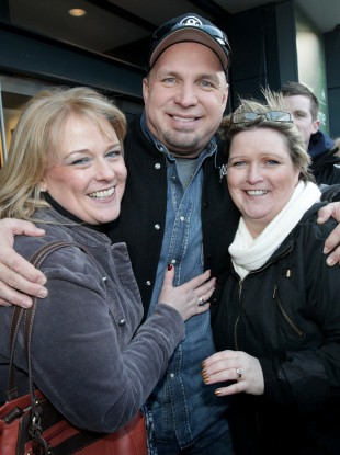 Garth Brooks at Croke Park last week.