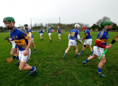 The Tipperary hurlers won't be in action today.