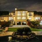 3.99 million dollars for this home on 6.5 acres of land. It boasts a huge pool, sport court, putting green and easy access to hiking trails. <span class=