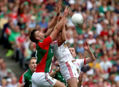 Mayo take on Tyrone on Sunday.