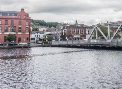 Brian Boru Bridge in Cork city.