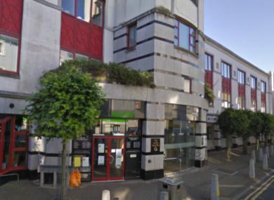 The Hynes Building in Galway, where Solomon Soremekun was killed