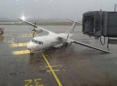 The plane at Shannon today