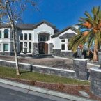 4 million dollars for this San Jose home with its eight bedrooms, full gym, bowling alley, dance studio, and parking for 7 cars.<span class=