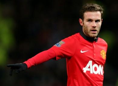 Juan Mata: hasn't given up hope just yet.