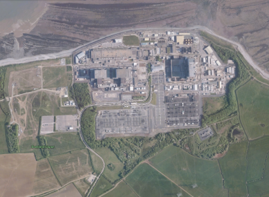 The current plant at Hinkley Point
