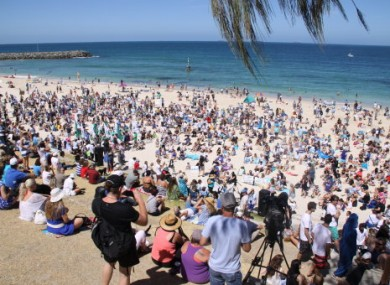 Two men were killed by sharks in Australia last year. (File photo)