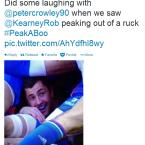 Rob Kearney gets in too deep.