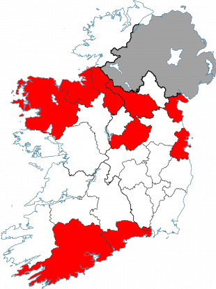 These are the ten counties with the highest rates of bowel ... on current cancer statistics map, abortion rate map, skin cancer map, obesity rate map, cancer incidence world map, us cancer map, death rate map, unemployment rate map, cancer death map, tuberculosis rate map,