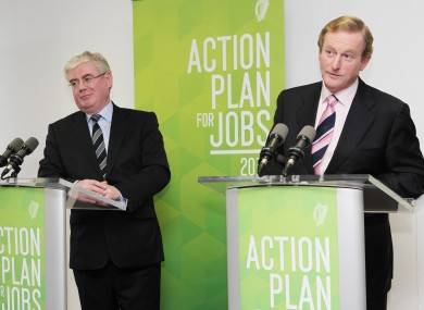 Tánaiste Eamon Gilmore and Taoiseach Enda Kenny will have some reshuffling to do later this year.