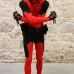Aidan Rogers from Laois as Deadpool.<span class=