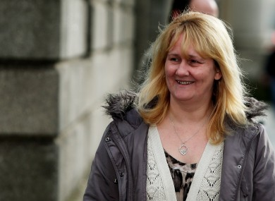 Sylvia Deehan pictured at the Four Courts