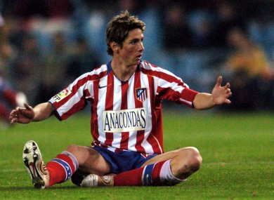 El Nino  Torres was a home favourite at the Calderon in his early days. c32ed14f4
