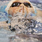 Hannah Miley competes in the Women's Open 200 IM, during the 2014 British Gas Swimming Championships at Tollcross International Swimming Centre, Glasgow.<span class=