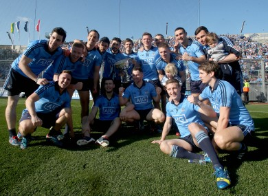 Dublin retained the league title for the first time in the county's history yesterday.