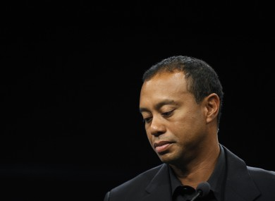 Tiger Woods: making decisions for long-term prospects.