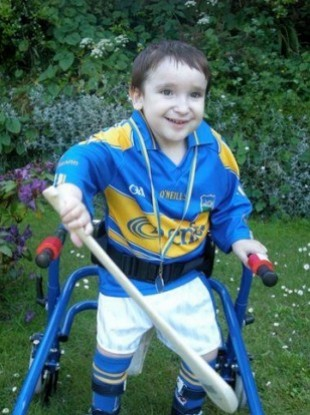 Alex Coyle had his medical card taken from him even though he has Mowat Wilson Syndrome.