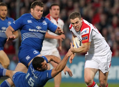 Darren Cave starts at inside centre for Ulster this evening.