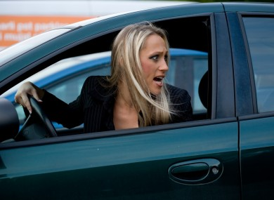 Are you as malicious as this stock image of a malicious driver?
