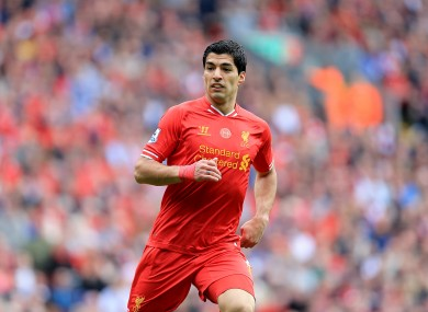 Luis Suarez has carried our team at times this season.