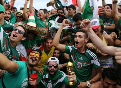 Mexico's fans have been waiting a long time to see their country emerge from a cocoon of potential.