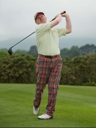 Kevin Markham on his home course Greystones.