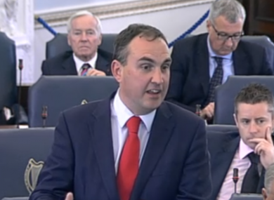 Senator Marc MacSharry's nomination to the banking inquiry has caused controversy