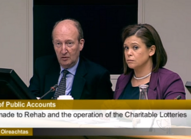 PAC members Shane Ross and Mary McDonald (File photo)