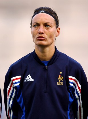 Corinne Diacre is a former captain of the French woman's team.