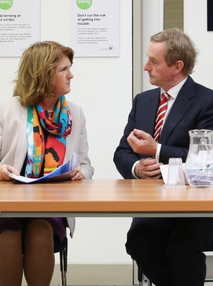 Joan Burton and Enda Kenny have more talking to do.