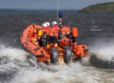 The Lough Derg RNLI lifeboat