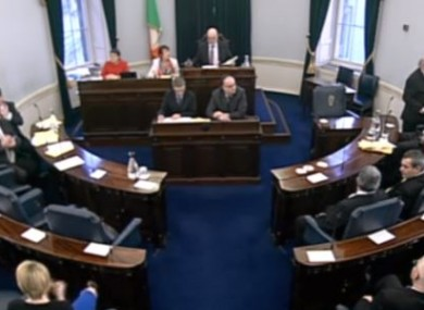File photo of the Seanad