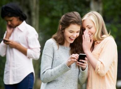Teen sexting app