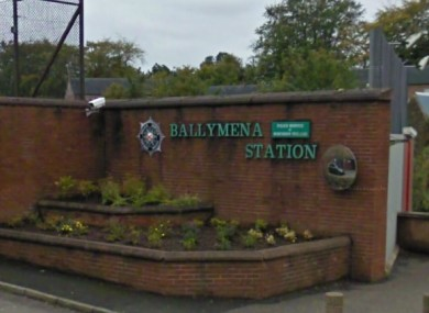 Ballymena police station, Co Antrim
