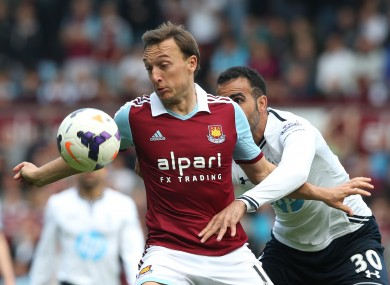 Mark Noble is a first-team regular in Sam Allardyce's West Ham side.