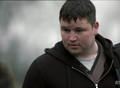 Connors as Patrick in Love/Hate