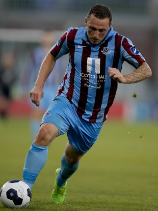Gary O'Neill scored twice tonight for Drogheda.