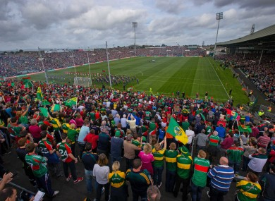 The Gaelic Grounds hosted yesterday's semi-final replay.